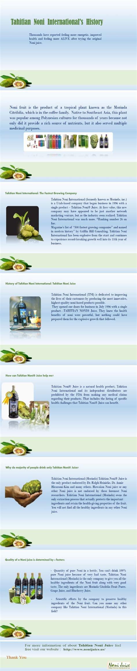 Tahitian Noni Jus tahitian noni juice nutritional information nutrition ftempo