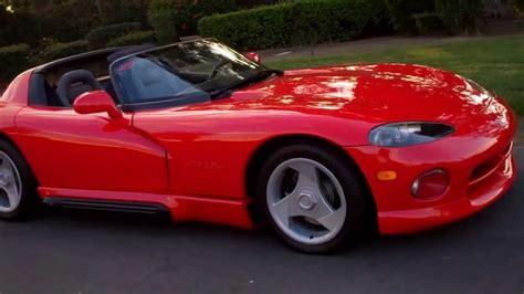 1992 dodge viper for sale sold 1992 dodge viper rt 10 roadster viper