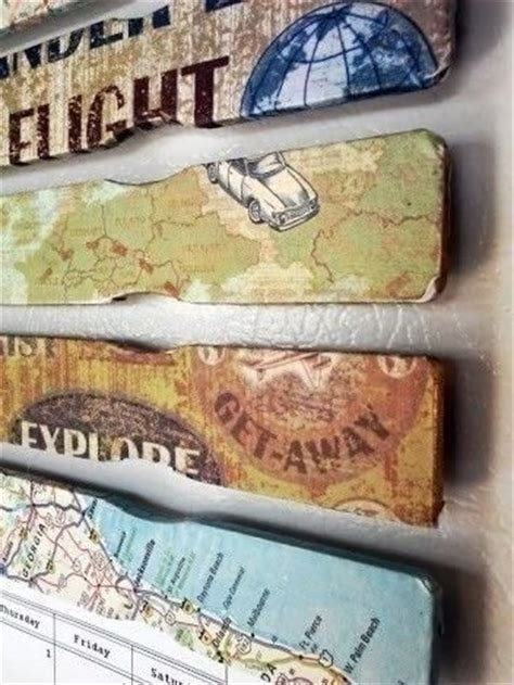 Paint Stick Fridge Magnets · How To Make A Recycled Magnet ... Fridge Magnet Toys