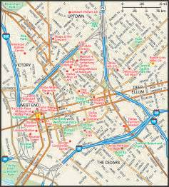 map of downtown dallas dallas map guide to dallas