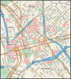 dallas map guide to dallas