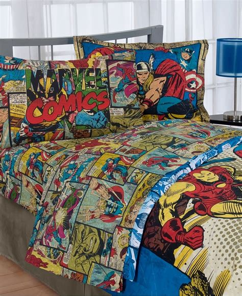 superhero bed sheets found them on sale woo hoo 24 99 at macy s now i just