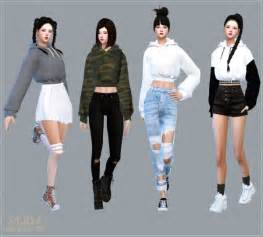Top 10 Home Decor Websites Sims4 Marigold New Crop Hoodie Sims 4 Downloads