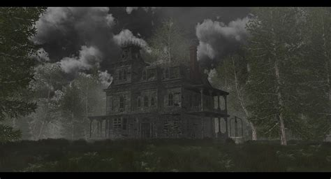 the old dark house the old house in the dark forest by swissada on deviantart