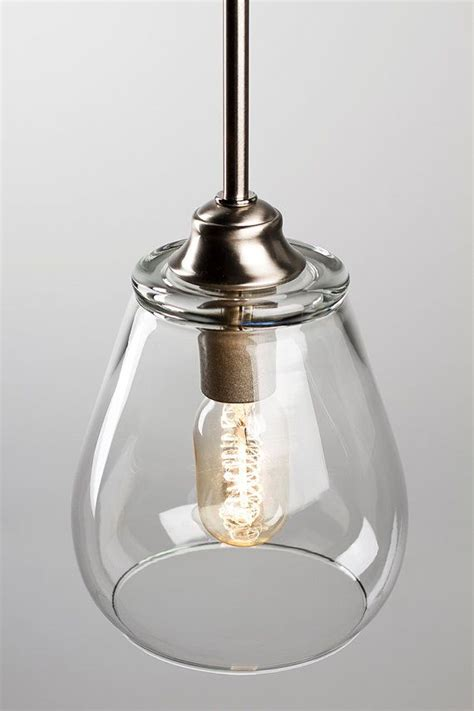 kitchen light pendant pendant light fixture edison bulb brushed nickel