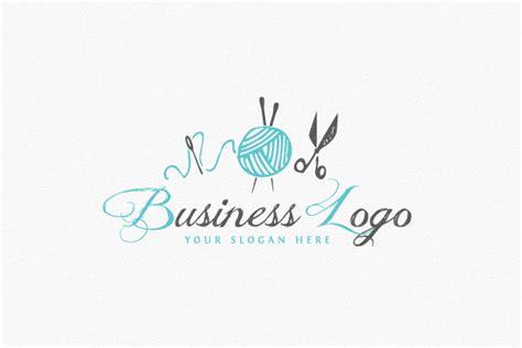 knitting logo knitting logo diy logo