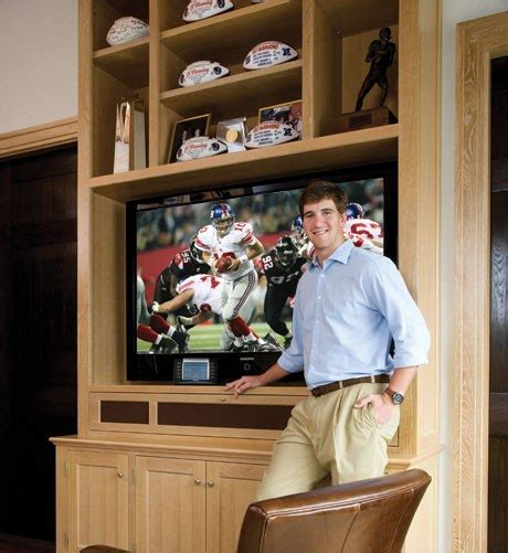 here s what eli manning s penthouse looks like highlights from eli manning s automated condo audioholics
