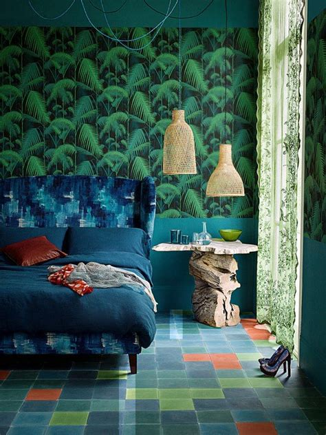 Design Your Own Bedroom Wallpaper Create Your Own Jungle Wallpaper Print Chic Living