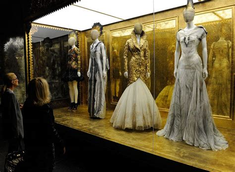 Exhibit At The Metropolitan Museum Of by Last Chance To See Mcqueen Savage At The
