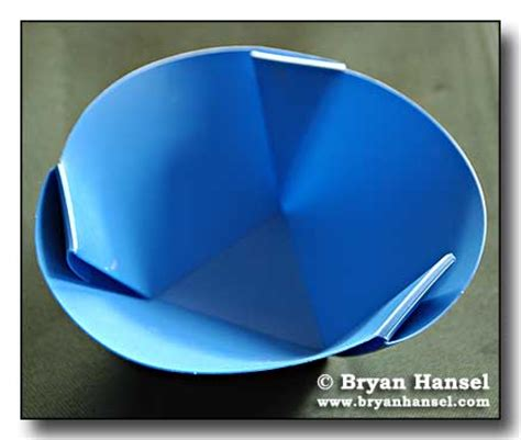 How To Fold A Paper Bowl - review orikaso fold flat bowl paddlinglight