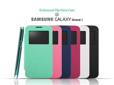 Samsung Galaxy Grand 2 Ory Flip Casing Cover Anti 2 samsung galaxy grand 2 embossed flip view