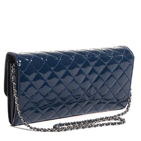 Chanel Oversized Clutch Lilac chanel patent quilted east west clutch with chain blue 93919