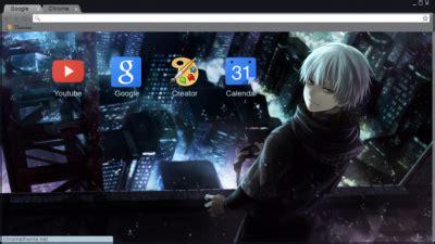 themes google chrome tokyo ghoul kaneki ken chrome themes themebeta