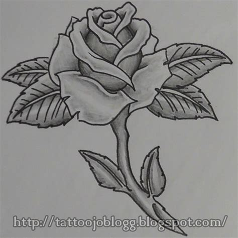 rose tattoo tutorial 1000 ideas about simple on most