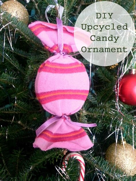 how to make diy upcycled candy ornaments sarah s cucina
