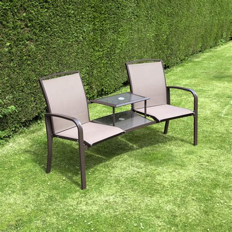 love seat garden bench billyoh express textilene companion love seat garden bench