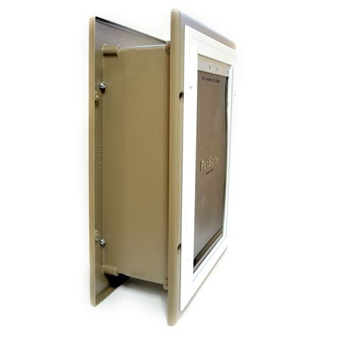 doors for walls petsafe pet door wall entry cat doors for walls