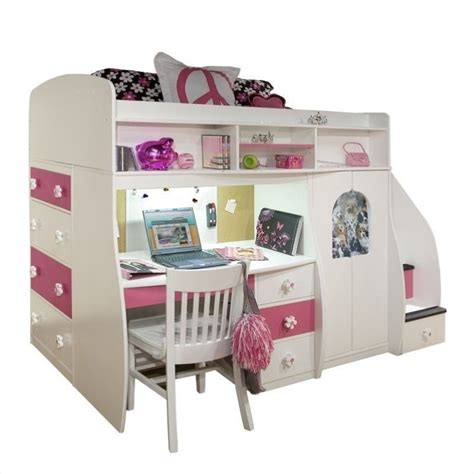 berg loft bed play and study twin loft bed 91 74 xx