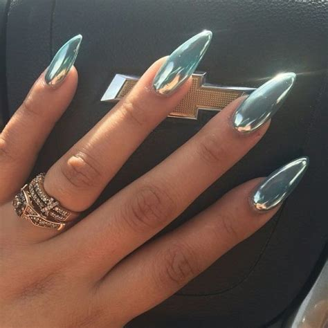 best chrome 25 best ideas about chrome nails on