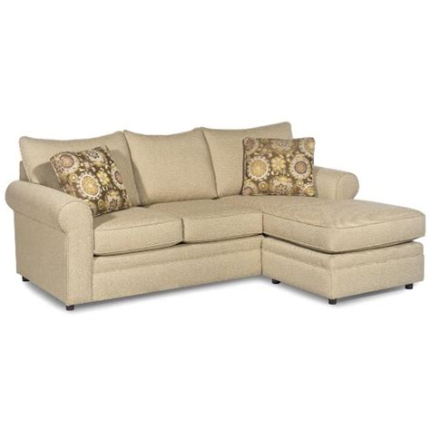 hickory craft sofa hickory craft 774850 casual sofa with chaise and sock arms