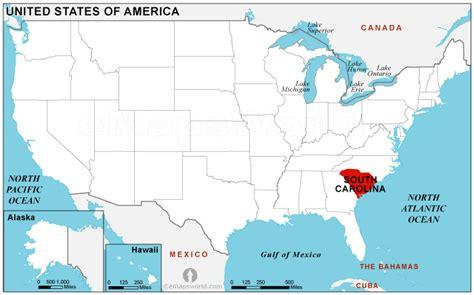 world map carolina south carolina location map location map of south