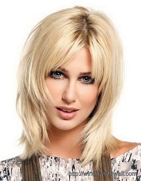 hairstyle ideas layered medium length layered hairstyle ideas with thin hair