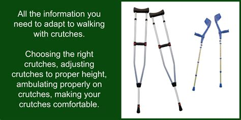 how do you make crutches more comfortable livinglifeoncrutches