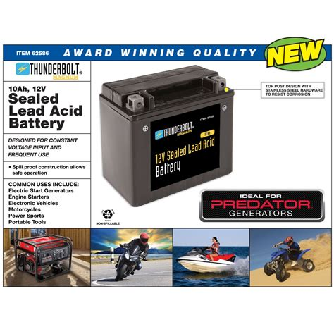 volt  ah sealed lead acid battery