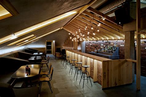 Rustic Bar Designs Ravishing Attic Bar Blends Rustic Textures With