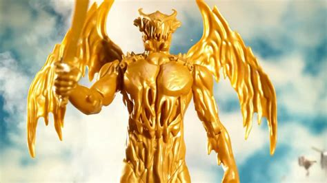 the power rangers movie s new goldar is certainly gold