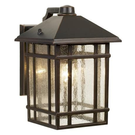 mission style outdoor wall light jardin du jour craftsman 11 quot high outdoor wall