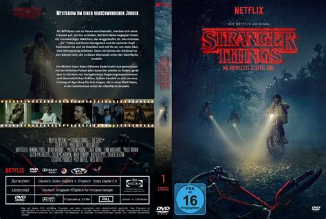 things staffel 1 dvd cover labels 2016 r2 german custom