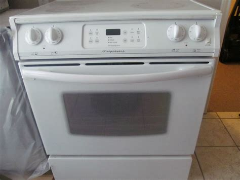 frigidaire electric flat top range stove working ebay