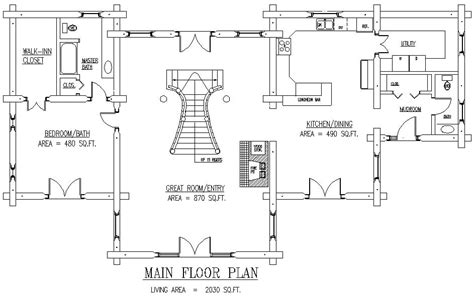 log home floor plan 3000 to 5000 square sq ft