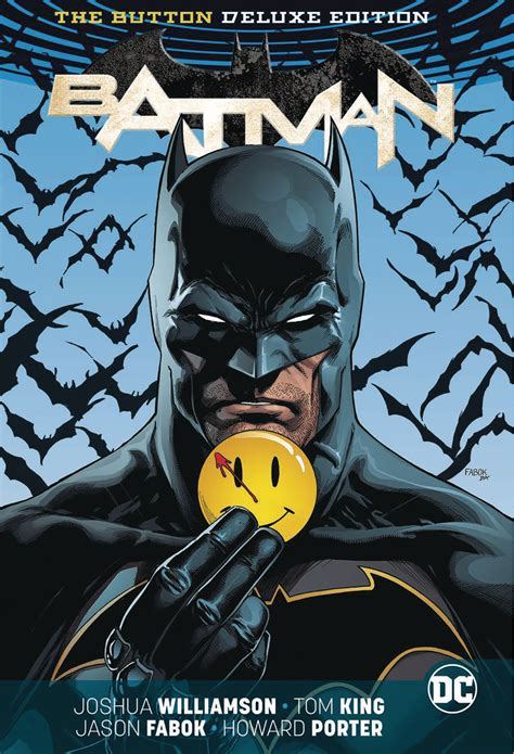 jun170380 batman flash the button deluxe ed hc previews world