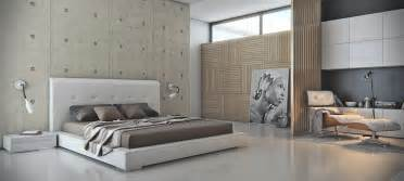Via armen gevorgyanthe cool concrete of this headboard wall offsets