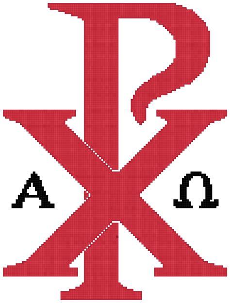 Chi Rho Symbol Pattern Chart Graph