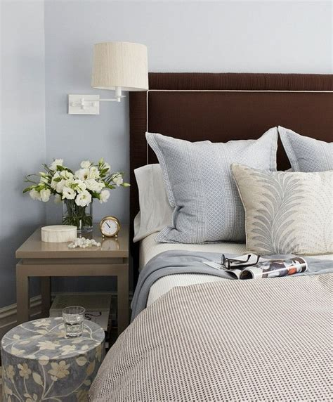 Brown Velvet Headboard by Best 25 Blue Brown Bedrooms Ideas Only On