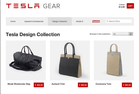 tesla gear website fires up tesla apparel doesn t look
