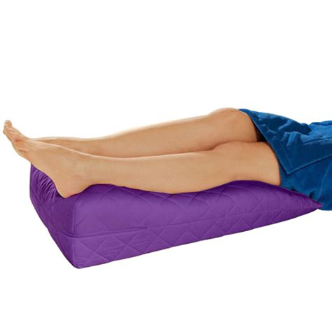 Purple Bed Rest Pillow by Purple Orthopaedic Contour Leg Raise Pillow Foot Rest