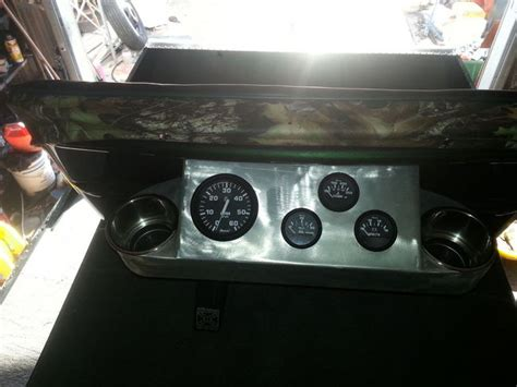 airboat gauge panel 3b fab gauge panel with cup holders southern airboat