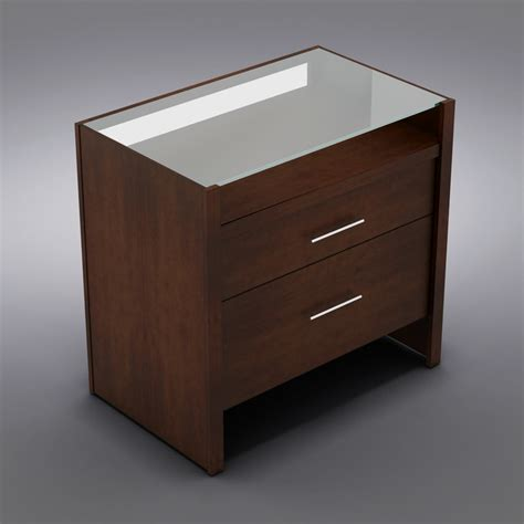 Crate And Barrel Office Desk 3d Model Crate Barrel Desk