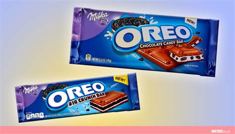 Milka Chocolate Block Oreo oreo and milka to collaborate on hybrid chocolate bars and