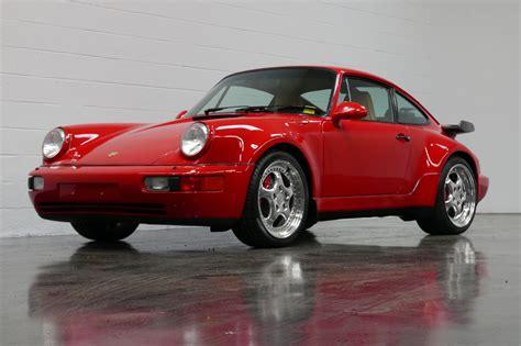 Porsche Turbo 3 6 For Sale by 1994 Porsche 911 Turbo 3 6 Coupe For Sale 76628 Mcg