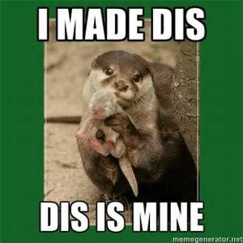Otter Meme - otter meme i made dis baby showers pinterest otter
