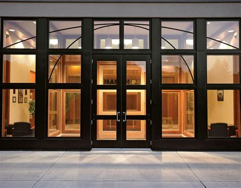 Marvin Windows And Doors Photo Gallery Commercial Entry Commercial Front Doors