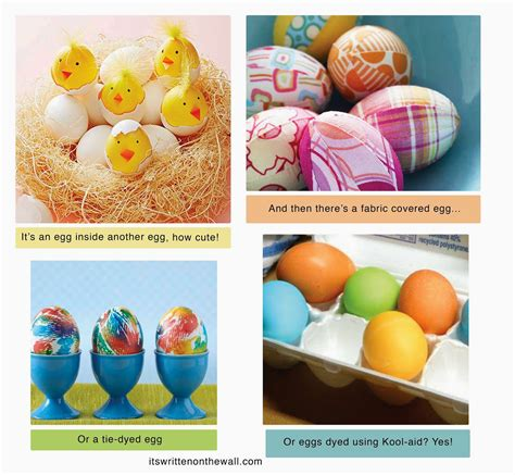 easter eggs decoration it s written on the wall need ideas for easter egg dying