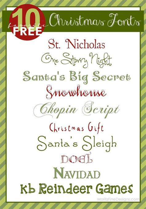 printable christmas fonts christmas fonts holiday invitations and fonts on pinterest