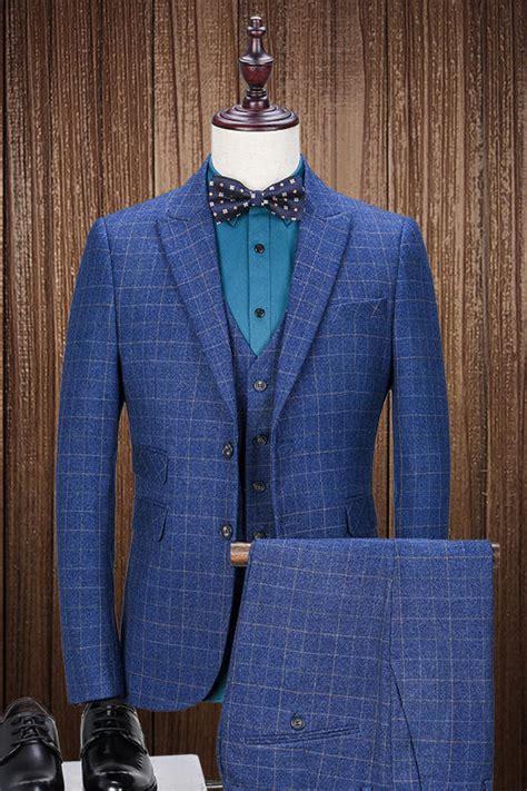 blue pattern men s suit popular mens suit pattern buy cheap mens suit pattern lots