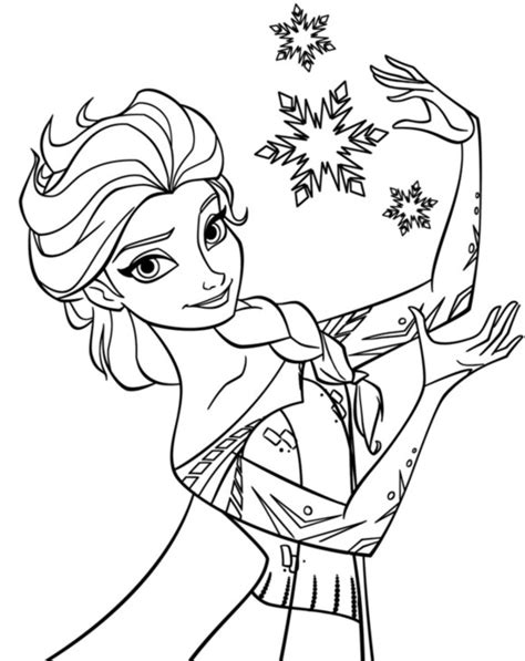 elsa coloring book elsa snowflake coloring page frozen coloring book